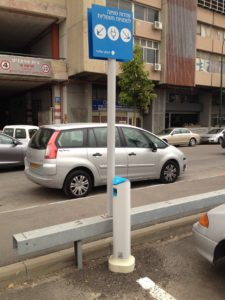 BETTER PLACE CHARGE POINT IN TEL AVIV SOURCE: ADRIAN G STEWART